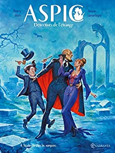 """Afficher """"Aspic, détectives de l'étrange n° 4<br /> Vaudeville chez les vampires"""""""