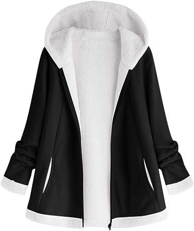 HGWXX7 Womens Vest Winter Warm Casual Faux Fur Zip Up Hoodie Outwear Sherpa Jacket Coat with Pockets