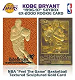 1996 KOBE BRYANT Feel The Game EX-2000 ROOKIE GOLD Card