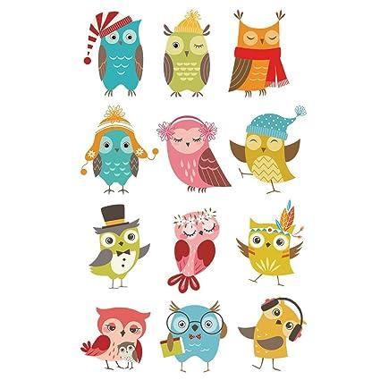 Hergon - Parches de animales para ropa de niños, pegatinas de bricolaje, parche de
