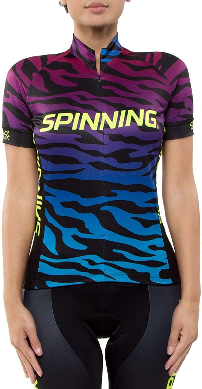 SPINNING 40-064-21M - Camiseta de Manga Corta para Mujer ...