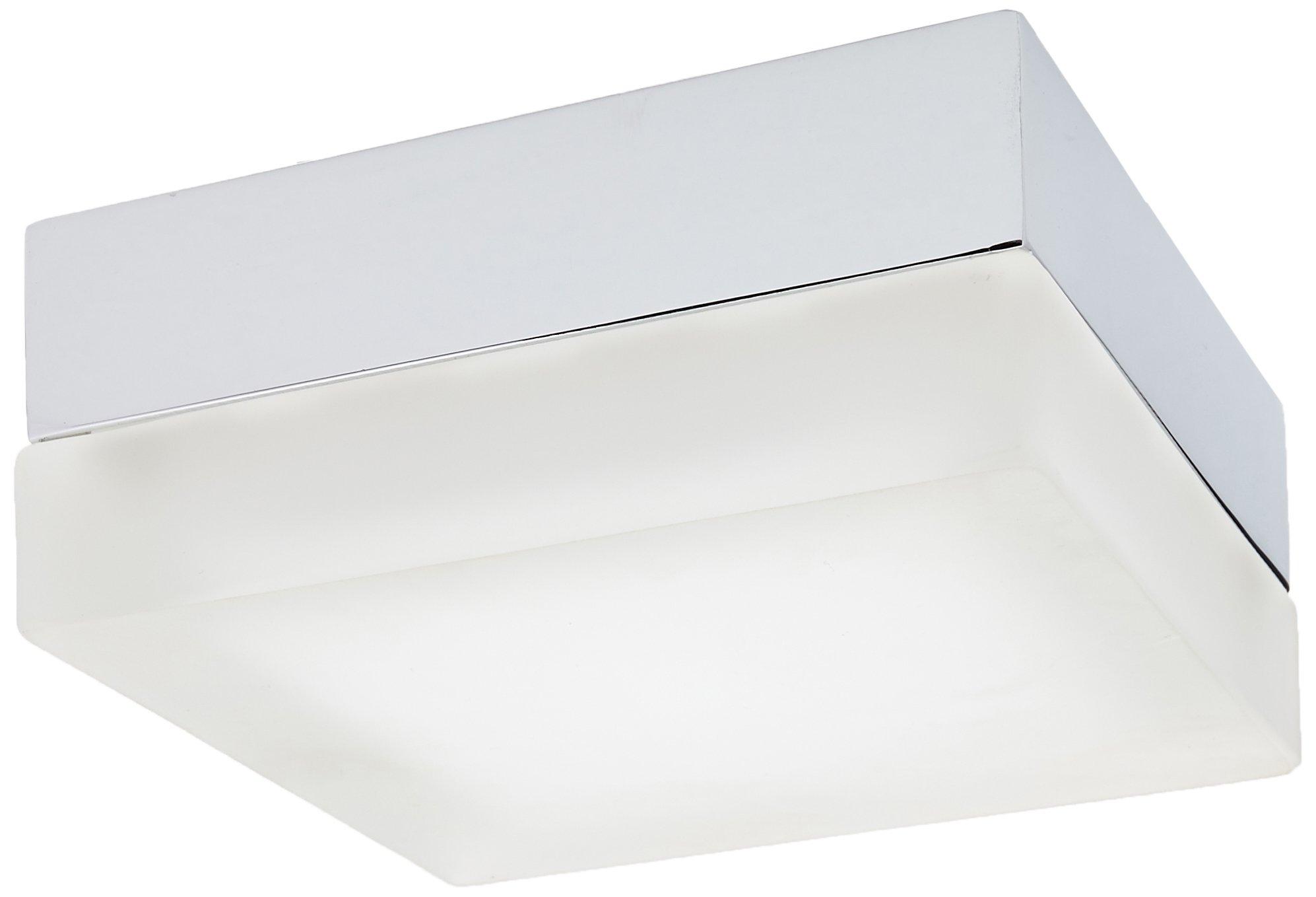 WAC Lighting FM-4006-30-CH 6in Square Soft White