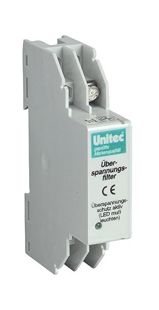 uniTEC 46416 Überspannungsfilter für Verteilereinbau: Amazon.de ...