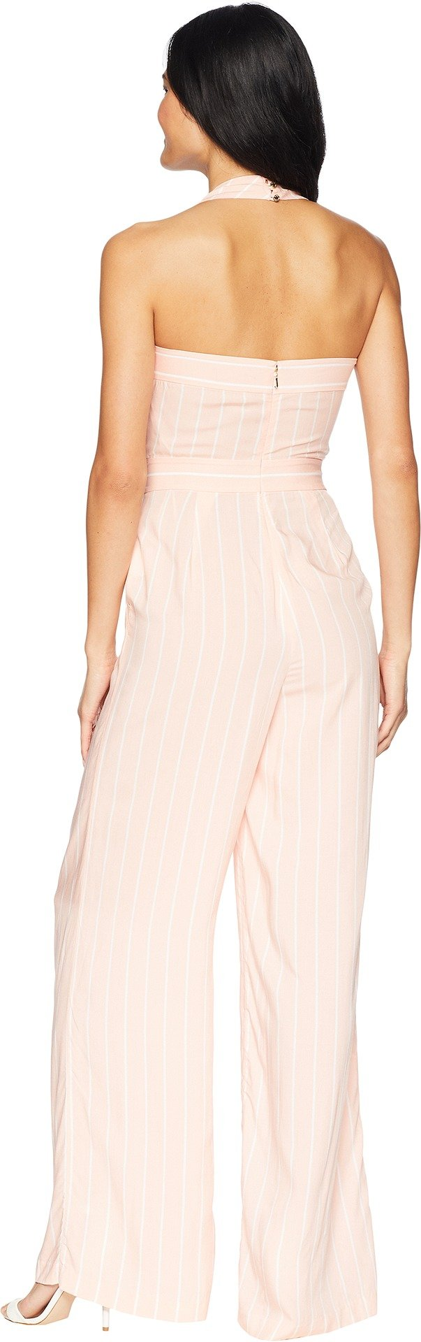 Juicy Couture Women's Cindy Stripe Jumpsuit Soft Pink Cindy Stripe 6 by Juicy Couture (Image #3)