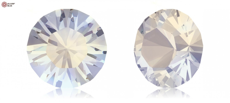 Cristales de Swarovski 684348 F, Piedras Redondas 1028 PP 13 Blanco Opal F, 684348 1440 Piezas 3fab89