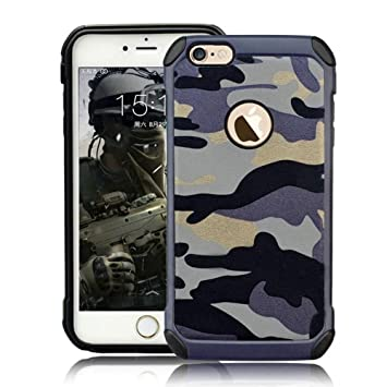 timeless design b6721 4a2a9 Protective Case for iPhone 5 5S Hybrid Heavy Duty Case SE Army Case Premium  Dual Layer Tough Rugged [Camouflage Design] Hard PC Back with Soft TPU ...