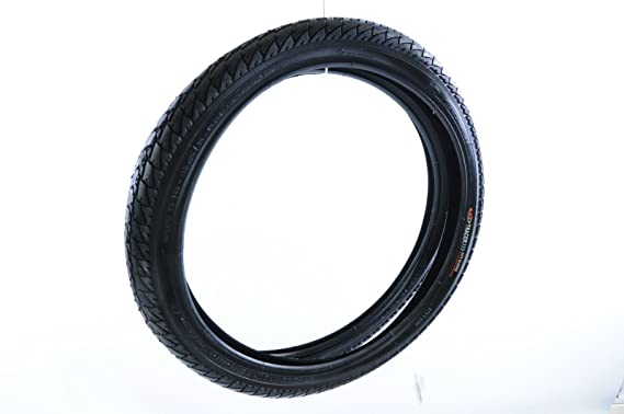 18 X 1.95 53-355 Roadster Tubes Traditional ATB Black Tyres