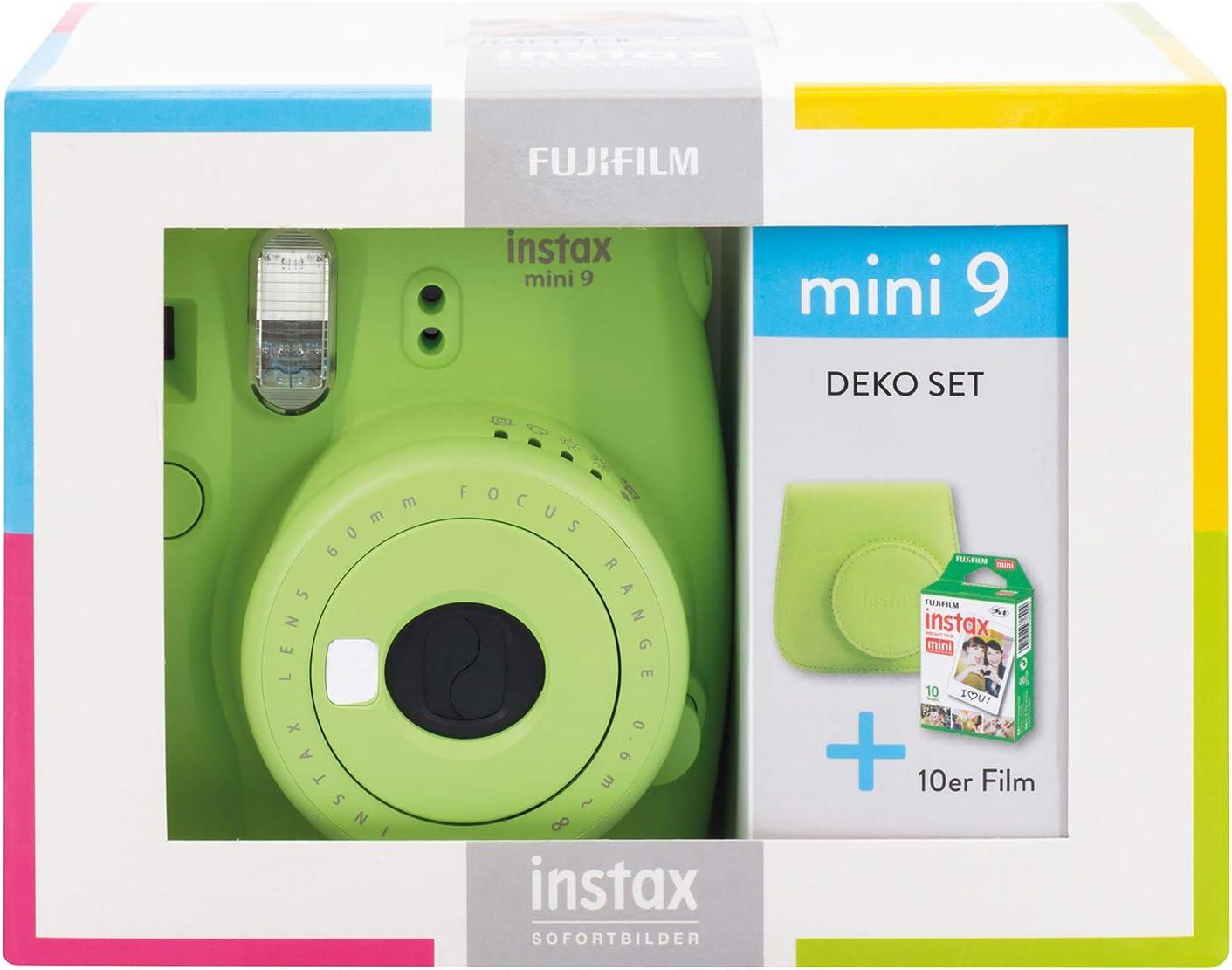 Instax Mini 9 Lime Green Travel Set Lime Grün Kamera