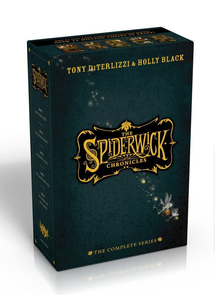 The Spiderwick Chronicles: The Complete Series by Simon Schuster Books for Young Readers (Image #1)