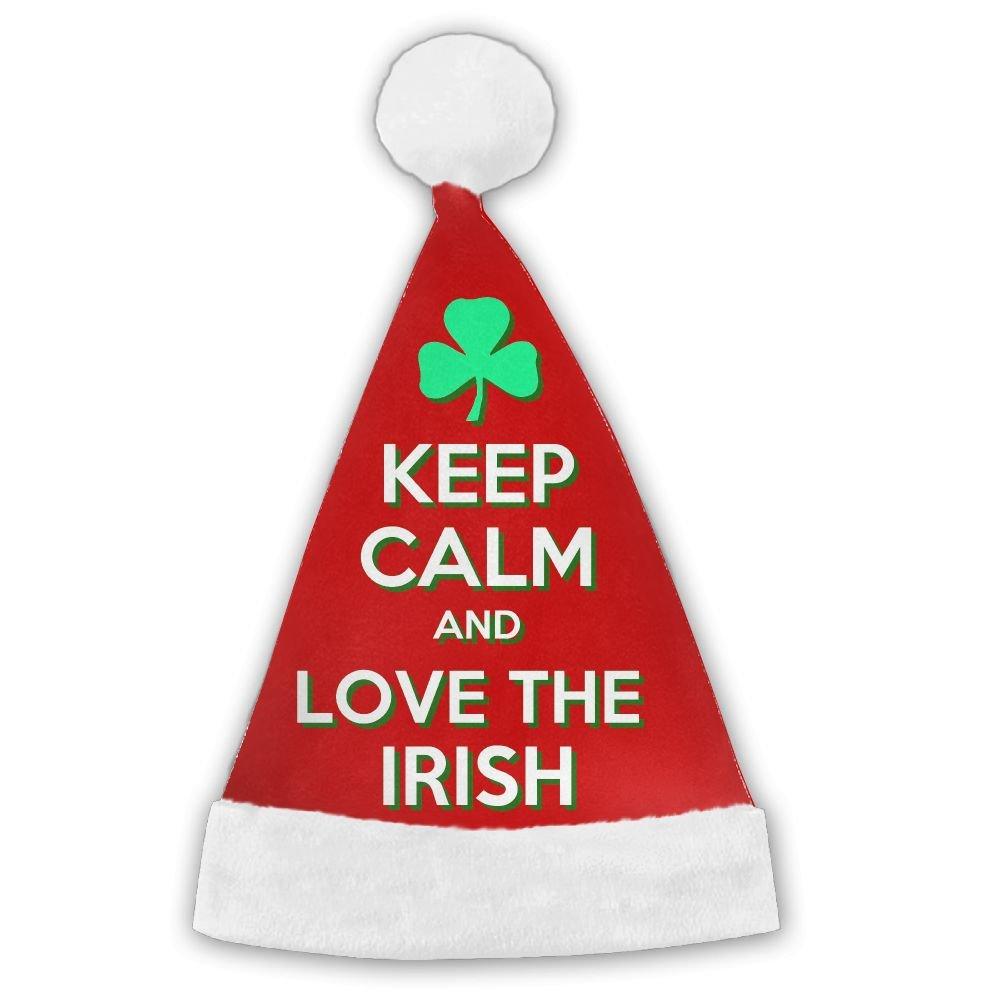 Amazon.com: Bestdeal Keep Calm And Love The Irish Christmas Santa ...