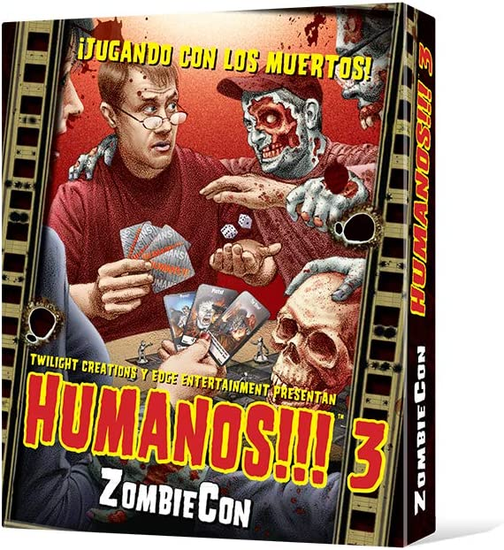 Edge Entertainment- ZombieCon, Juego de Mesa (EDGTC22): Amazon.es ...
