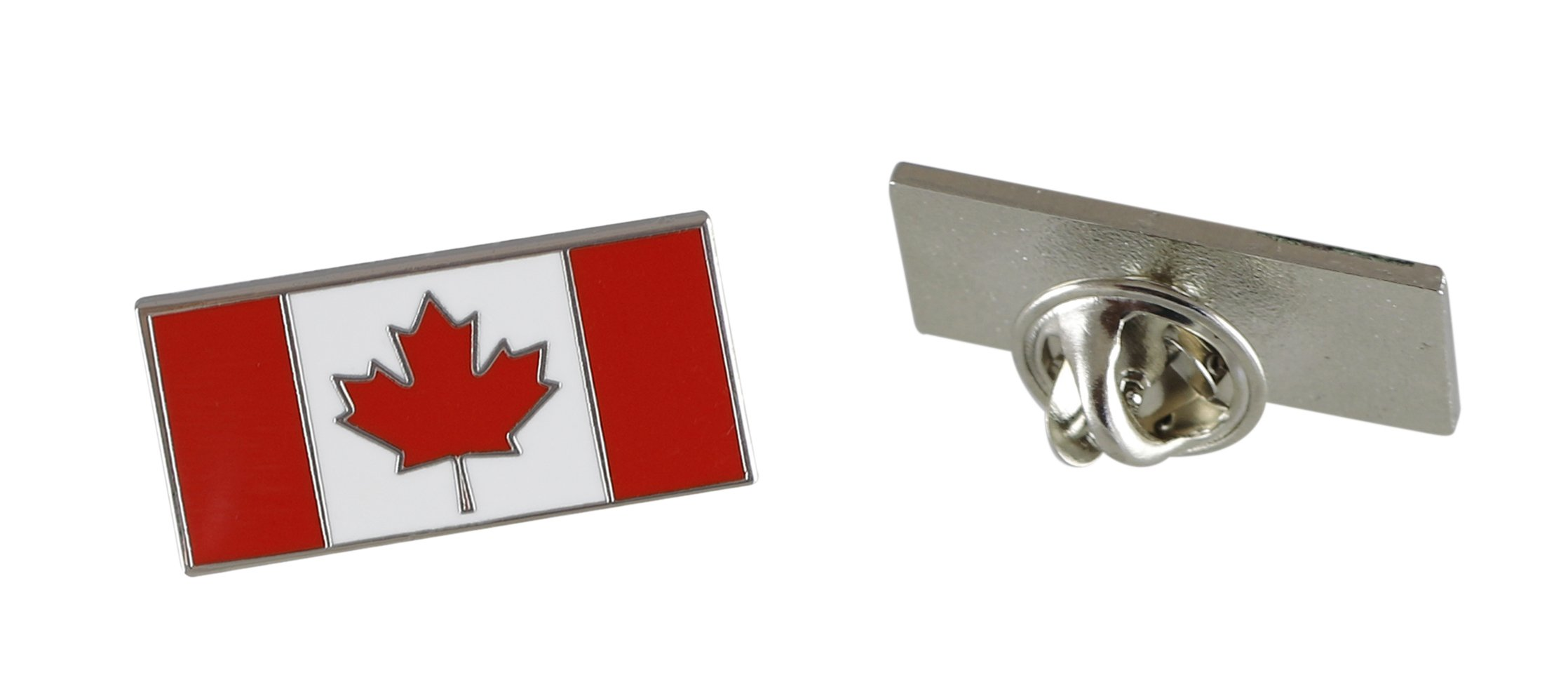 Forge Canadian Flag-Maple Leaf - Enamel Lapel Pins- Bulk (100 Pins) by Forge (Image #5)