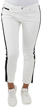 Damen Sommer Stoff Stretch Capri Kurze 3//4 Jeans Hose Shorts Bemuda Hüft