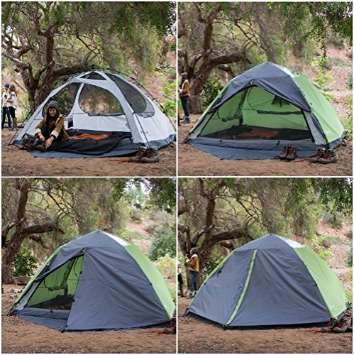Lightspeed Outdoors Vermont 4 Person Star Gazing Camping Tent