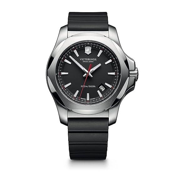 Victorinox Reloj de Cuarzo para Hombre con Correa de Goma - 241682.1: Victorinox: Amazon.es: Relojes