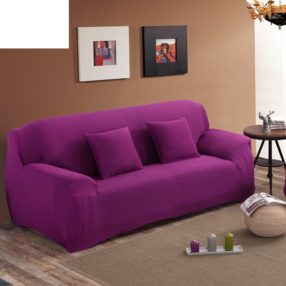 Amazon.com: SCEDGJDVXBB Solid Color Sofa Cover,Sofa Covers ...