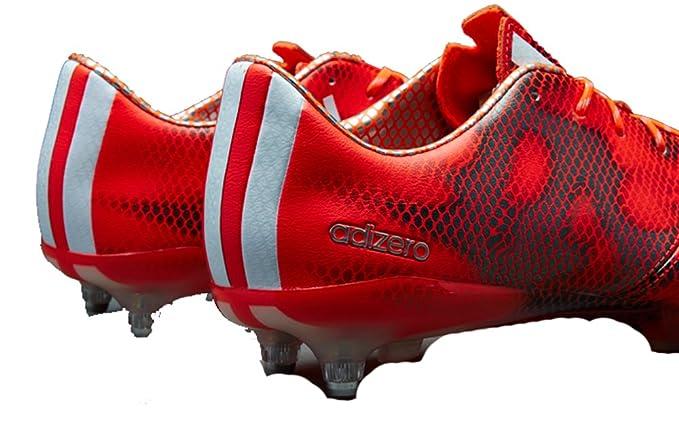adidas ac8736 F50 Adizero TRX SG Piel Hombre Botas de fútbol tamaño UK 6,5, Color Rojo, Color Rojo, Talla 40 EU: Amazon.es: Zapatos y complementos