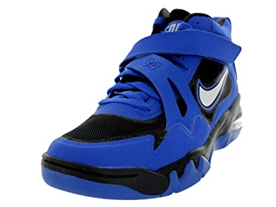 c46e8a32f1f Nike Mens Air Force Max CB 2 HYP Game Royal White Black Basketball Shoe