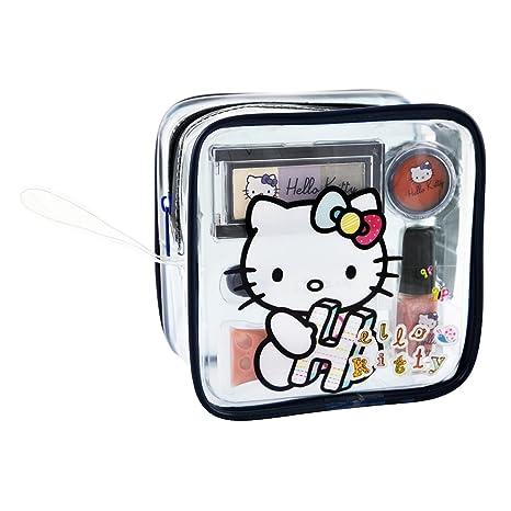 Hello Kitty HK.0375.12 - Estuche de maquillaje, 7 piezas ...
