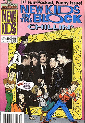New Kids On The Block Chillin' (1990 series) #1