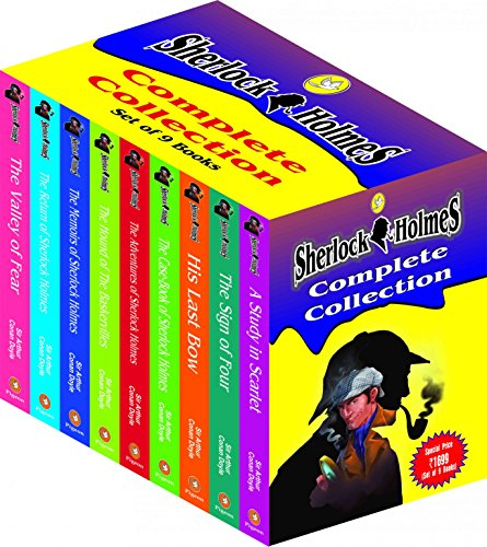 Sherlock Holmes Complete Collection (Set of 9 Books)