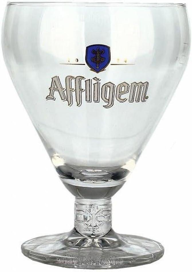 Lote de 4 Vasos de cerveza Affligem de 25 cl de la colección