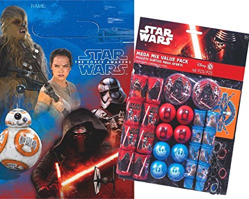 [Star Wars Episode VII Loot Bag Filler Kit - Serves 8 - Party Favors and Gift Bags] (Animal That Starts With J)
