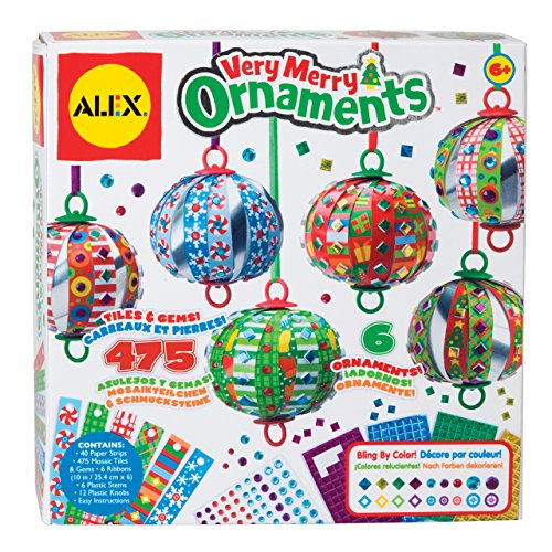 ALEX Toys Craft Very Merry Ornaments (Ornament Kits)