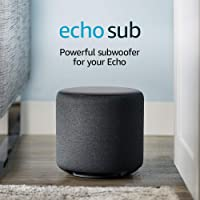 Amazon Echo Sub Powerful subwoofer Compatible With Echo Device