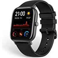 AmAmazfit GTS Smartwatch Fitness and Activities Tracker with Built-in GPS,5ATM Waterproof,Heart Rate, Music, Smart Notificatons (Black)