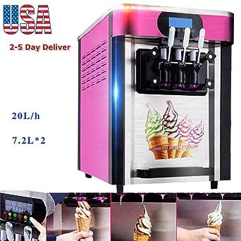 Máquina de helado Zinnor, máquina comercial para hacer helados ...