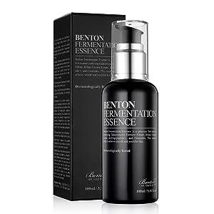 BENTON Fermentation Essence 100ml (3.38 fl.oz.) - Galactomyces Ferment Filtrate & Bifida Skin Fiirming & Vitalizing Essence, Anti-Wrinkle, Hydrating, for Dull & Dry Skin