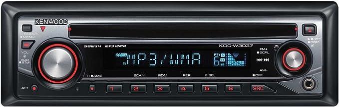 kenwood kdc w 3037 a mp3 cd tuner amazon co uk electronics rh amazon co uk Kenwood KDC 155U Manual kenwood kdc-w3037 instruction manual