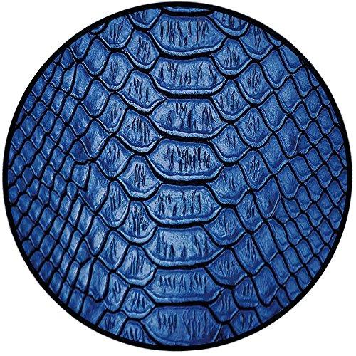 Printing Round Rug,Animal Print Decor,Colored Snake Skin Pattern Alligator Fancy Luxury Leather Clothing Artwork Home Decor Mat Non-Slip Soft Entrance Mat Door Floor Rug Area Rug For Chair Living Room