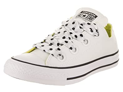 5ad7dfce19dc Converse Chuck Taylor All Star Big Eyelets OX Women s Shoes  White Yellow Black 560670c