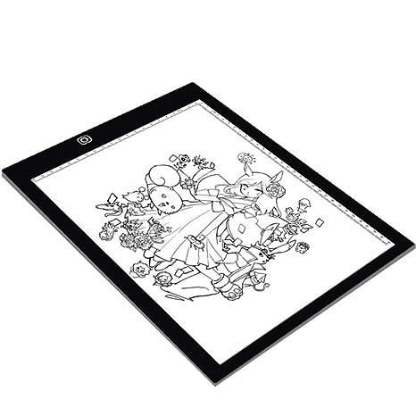 Copy Board Mesa de Luz Dibujo,A4 LED Mesas de Dibujo Light Pad ...