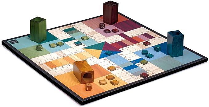 Cayro - Parchis Design - Parchis de madera - juego de mesa ...