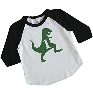 Amazon Bump And Beyond Designs Dinosaur Birthday Shirt Boy 1st