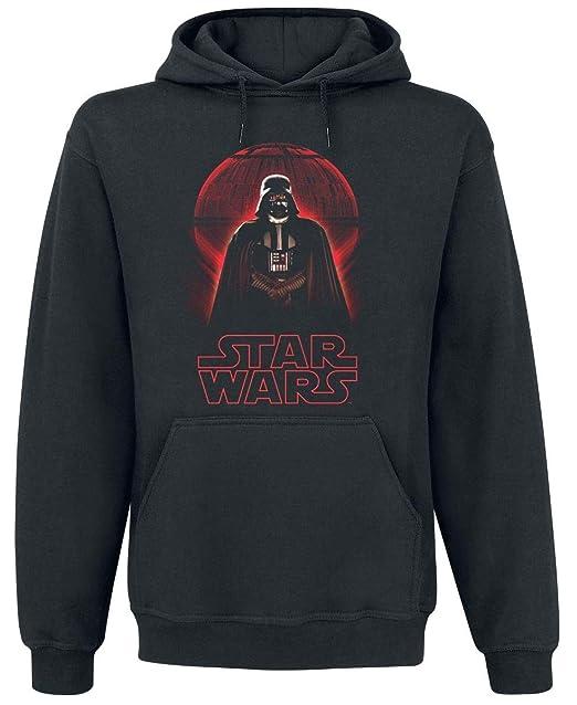 Star Wars Darth Vader Sudadera con Capucha Negro: Amazon.es: Ropa y accesorios