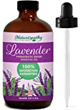 Naturopathy Lavender Essential Oil, Therapeutic Grade, Premium Quality Blend of Lavender Oil, 4 fl. Oz-Perfect for Aromatherapy and Relaxation