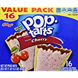 Kellogg's Frosted Cherry Pop-Tarts 16 Count 29.3 OZ