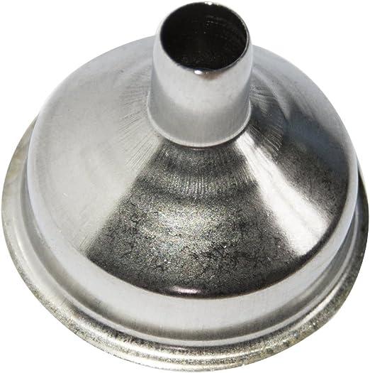 8mm Edelstahl-Trichterfüller für die meisten Flachmannweine Whiskey Pot Wide*PF