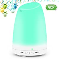 Mulcolor 120ml LED Essential Oil Diffuser / Cool Mist Humidifier
