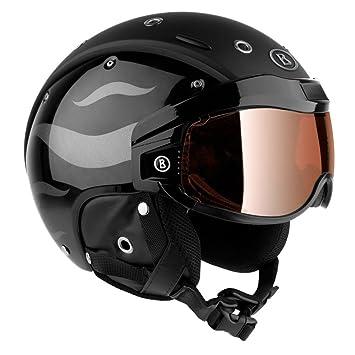 quality design 100% high quality vast selection Bogner Helm B-VISOR FLAMES BLACK Größe L - Kopfumfang 59 ...