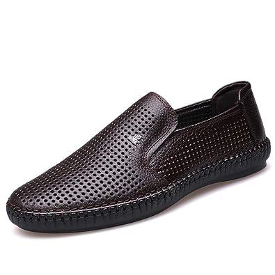 ZYUEER Herrenschuhe Sneaker Männer Sommer Casual Leder Sandalen Atmungsaktiv Gezeiten Outdoor Strand Schuhe