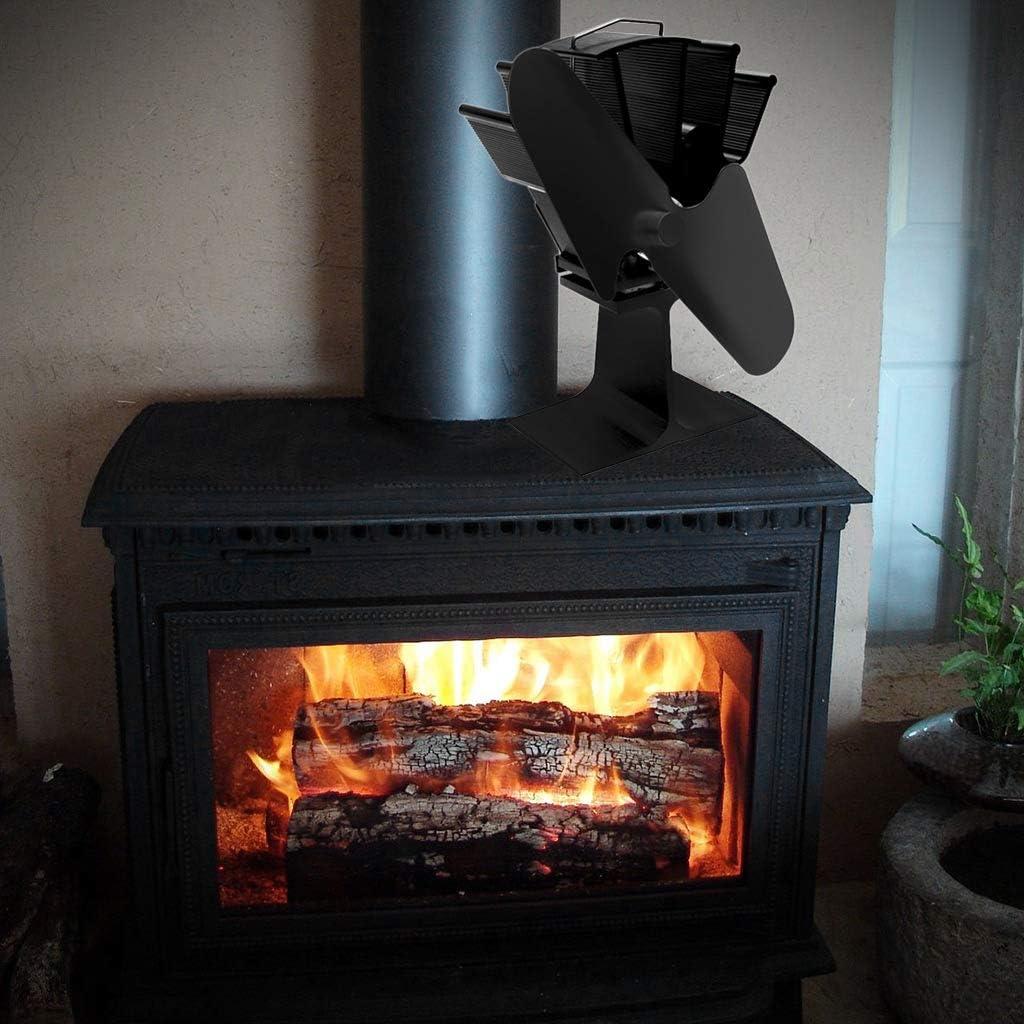 Keepart - Ventilador para chimenea, estufas de leña, estufas ...