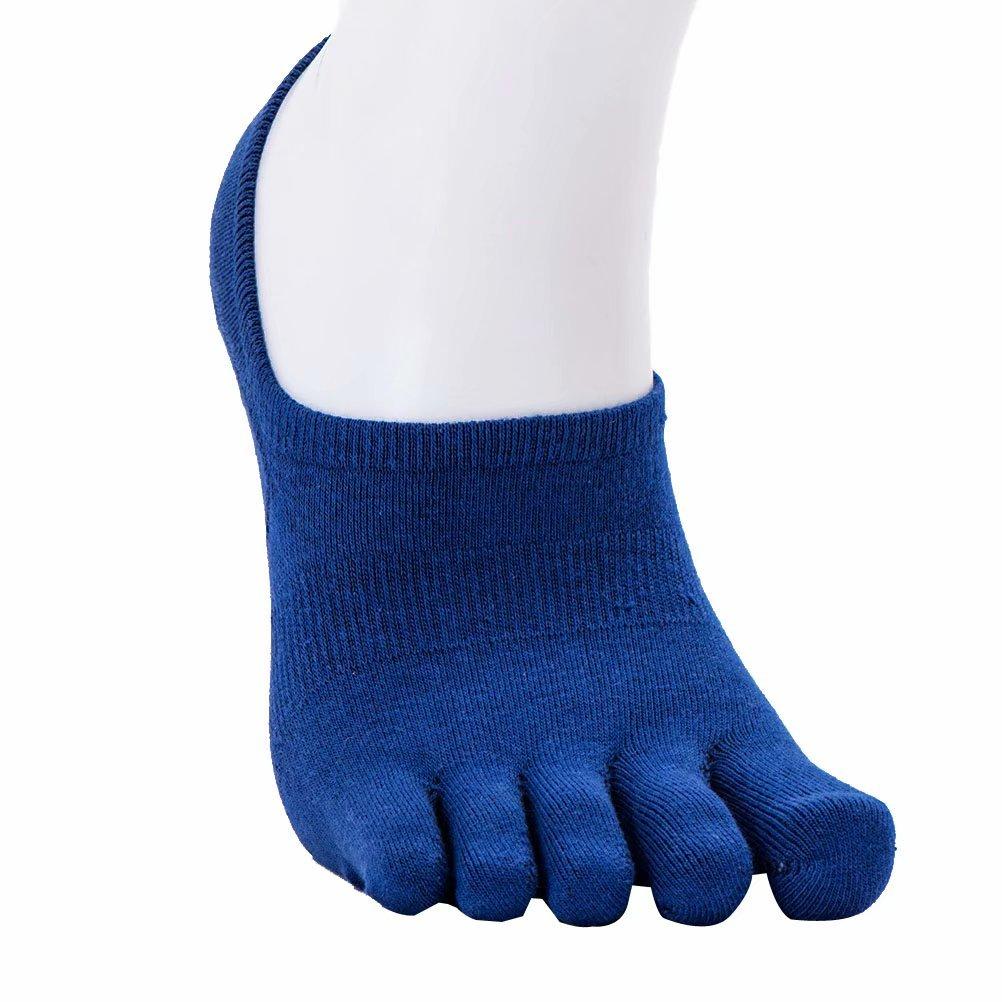 BEALTUY SOCKSHOSIERY メンズ 7-10 M US D.blue(4pack) B07DHJ8H78
