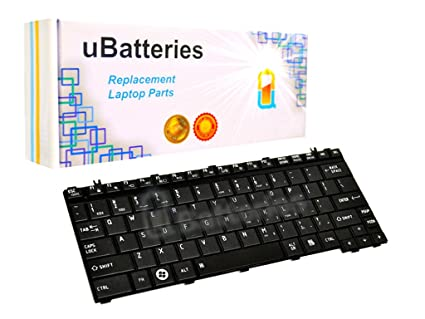 UBatteries Compatible Keyboard Replacement for Toshiba Portege M900 T130  T135 Satellite E205 U400 U405 U405D U500 U505 U505D AEBU2U00020-US