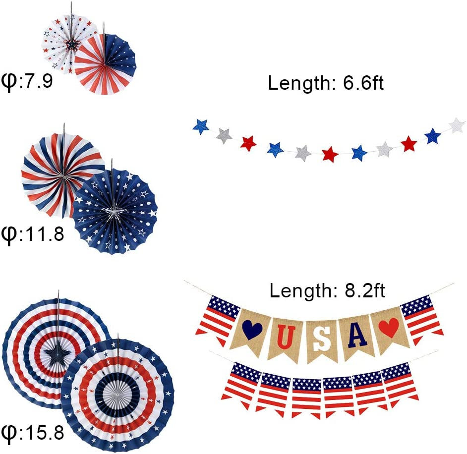 YBB Christmas Party Decorations Banner Set Red Green Merry Christmas Banner Pennant Flags Garland And Hanging Swirls for Christmas Party Backdrop Decoration Hanging Paper Fans