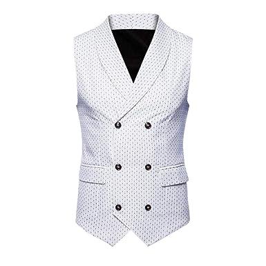 OverDose-Homme Solde Veston de Costume Homme Soirée Chemise à Pois ... c7369a41bc9